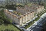 Комплекс многоэтажных жилых домов.